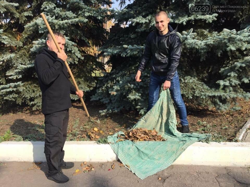 Правоохоронці Мирнограда вийшли на суботник, фото-3