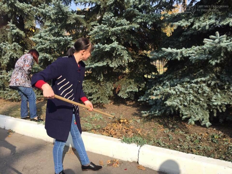 Правоохоронці Мирнограда вийшли на суботник, фото-2