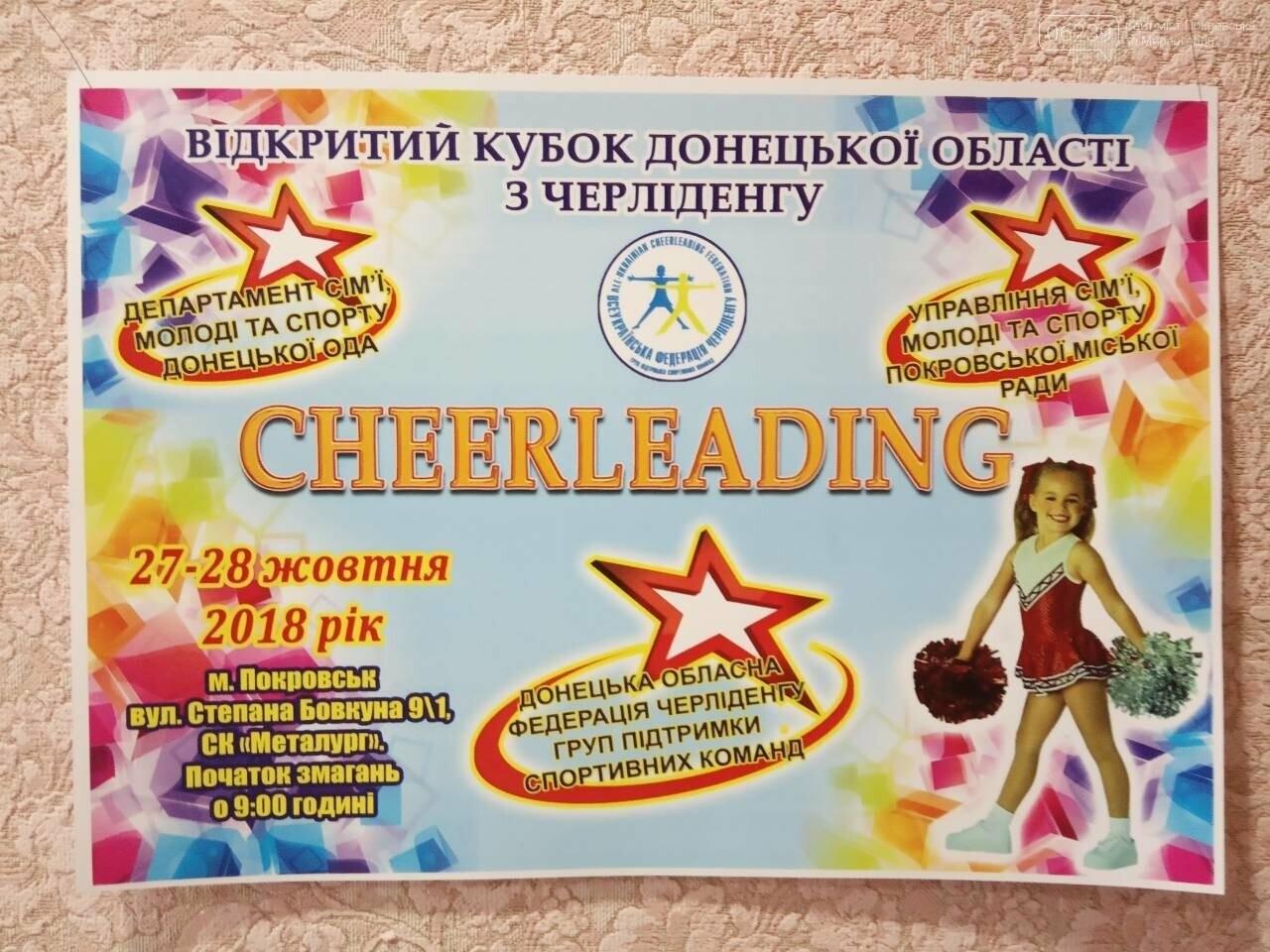 У Покровську відбудеться відкритий Кубок Донецької області з черліденгу, фото-1
