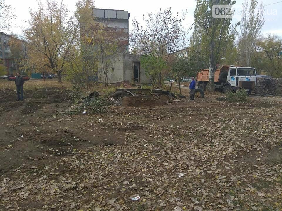 В Мирнограде убирают стихийные свалки, фото-4