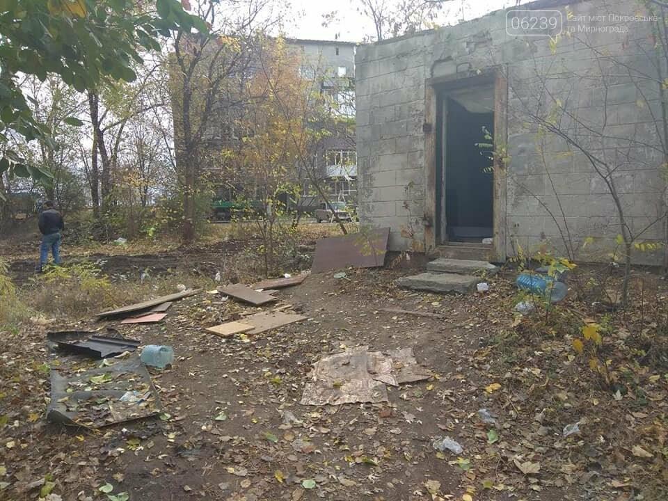 В Мирнограде убирают стихийные свалки, фото-2