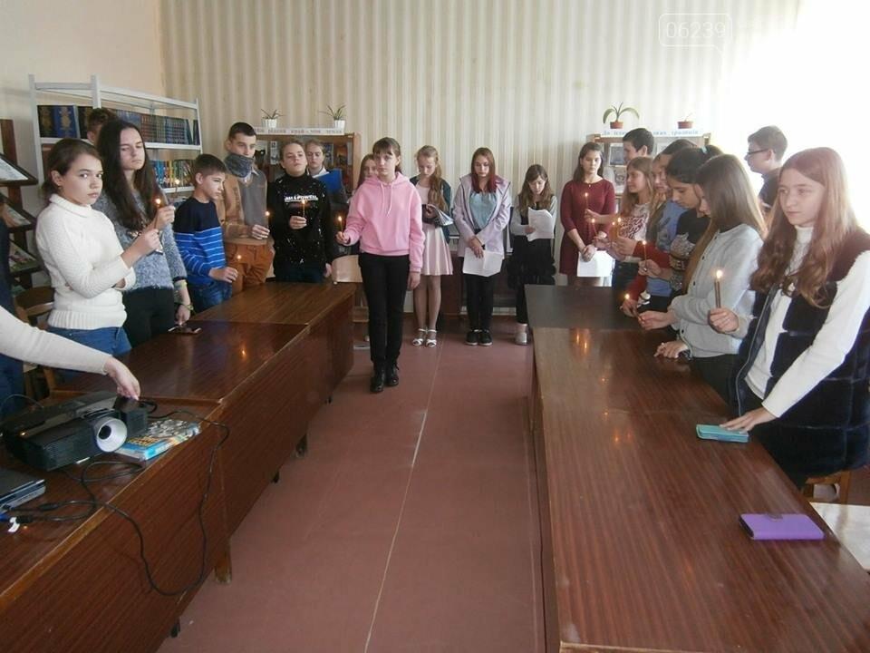 У школах Мирнограда пройшли жалобні заходи до Дня пам'яті жертв голодомору, фото-2