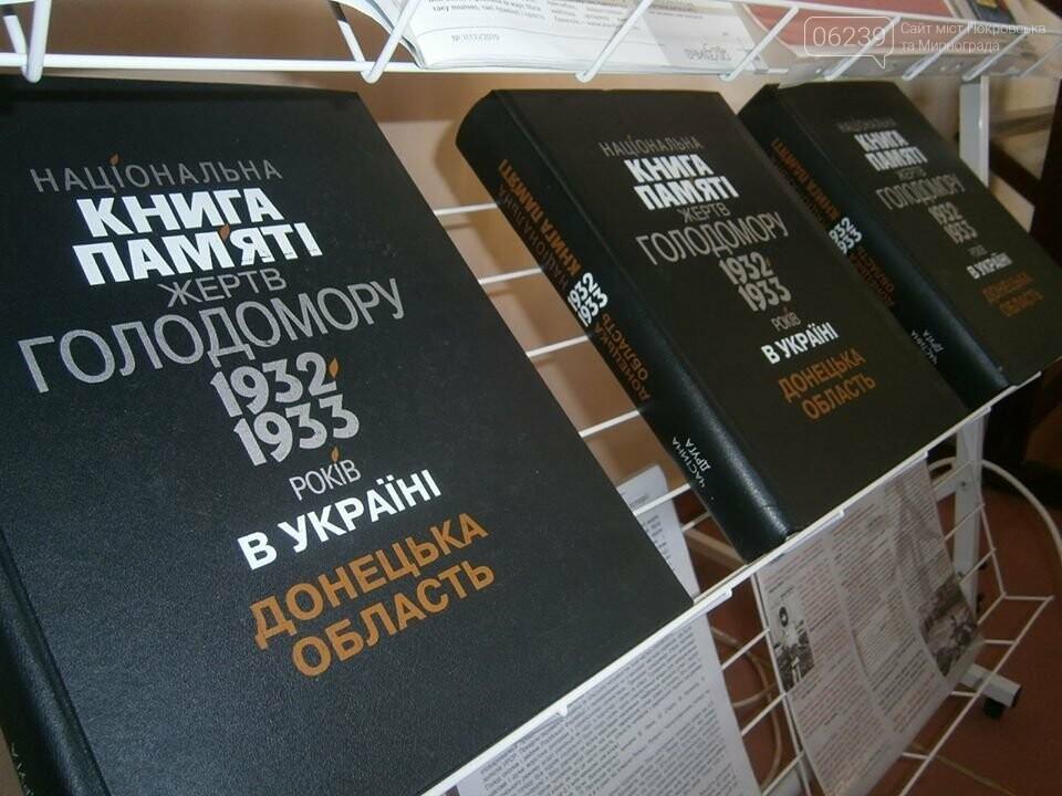 У школах Мирнограда пройшли жалобні заходи до Дня пам'яті жертв голодомору, фото-3
