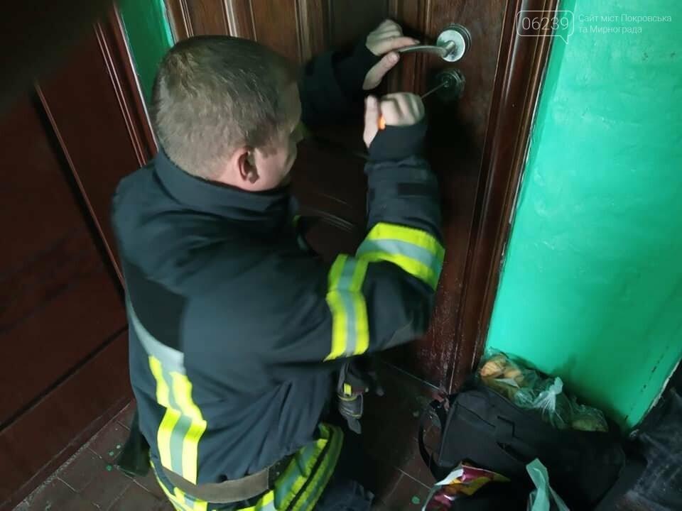У Мирнограді однорічний хлопчик зачинився в квартирі, фото-2