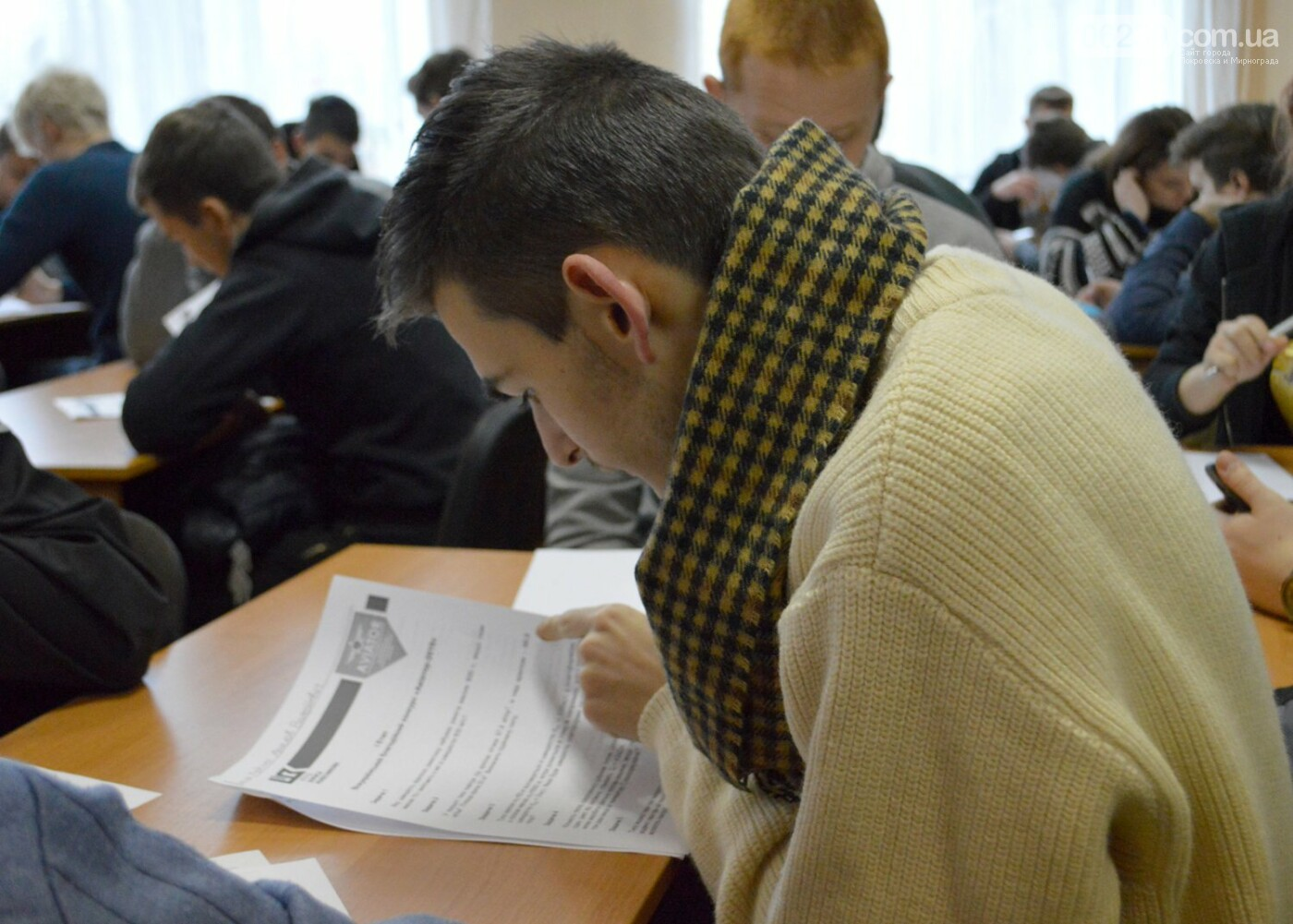 Студенты из Покровска включились в борьбу за поездку на Ле Бурже в Париж , фото-1