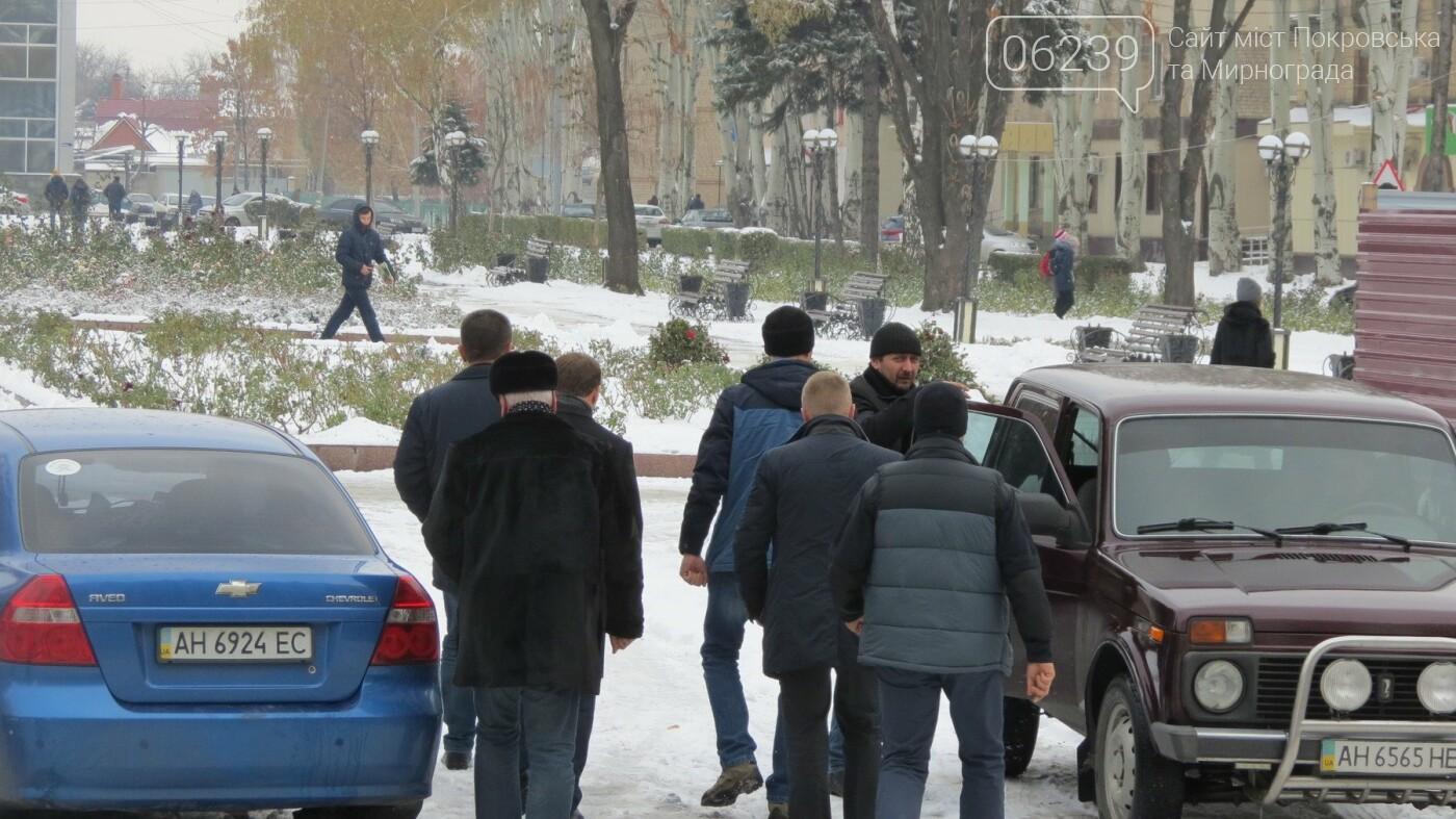 В Покровск прибыл губернатор Донецкой области Александр Куць, фото-1