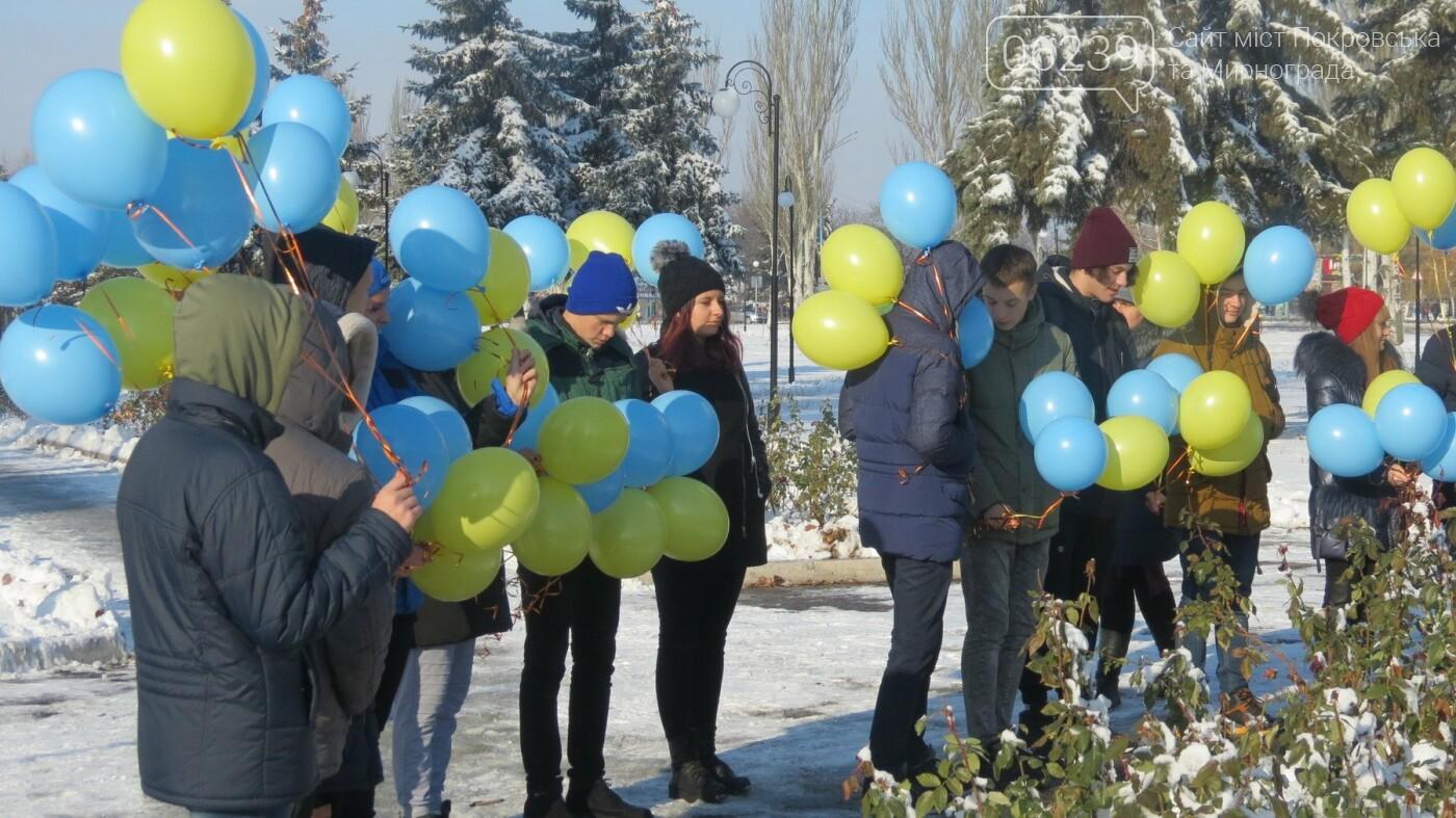 День достоинства и свободы: в Покровске почтили память событий на Майдане, фото-16