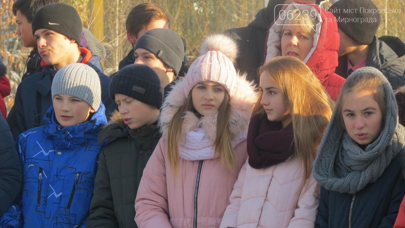 День достоинства и свободы: в Покровске почтили память событий на Майдане, фото-17
