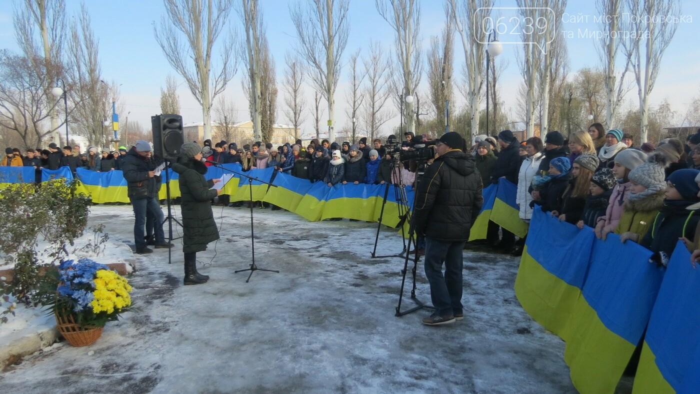 День достоинства и свободы: в Покровске почтили память событий на Майдане, фото-1