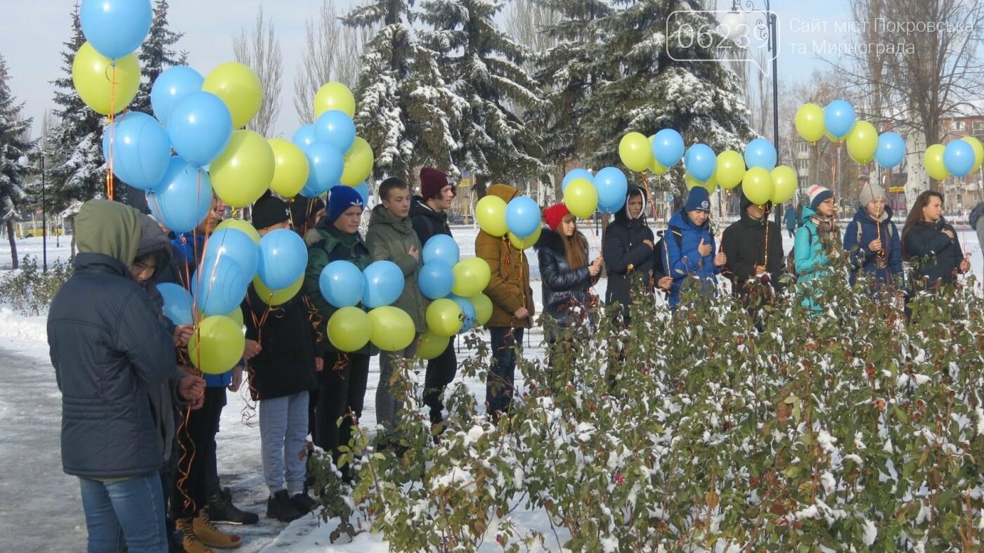День достоинства и свободы: в Покровске почтили память событий на Майдане, фото-2