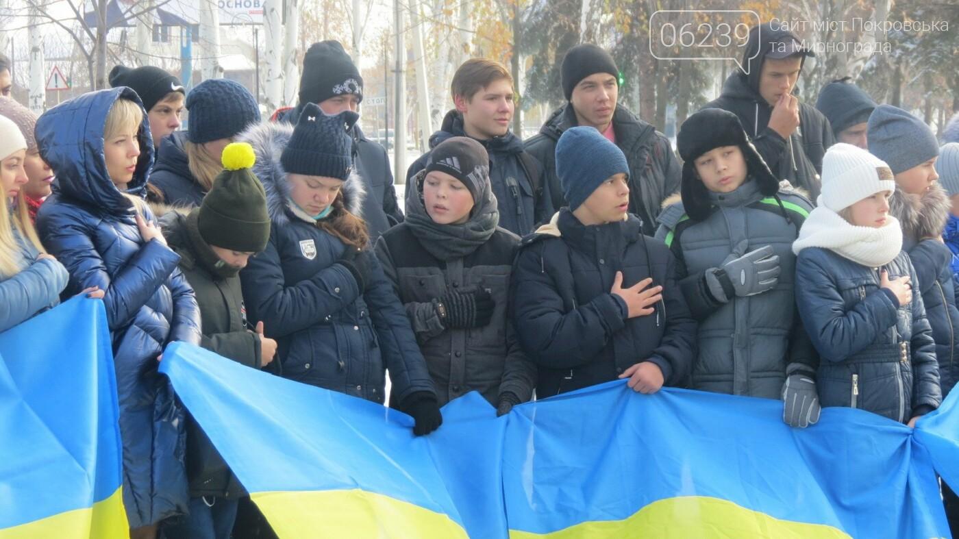День достоинства и свободы: в Покровске почтили память событий на Майдане, фото-6
