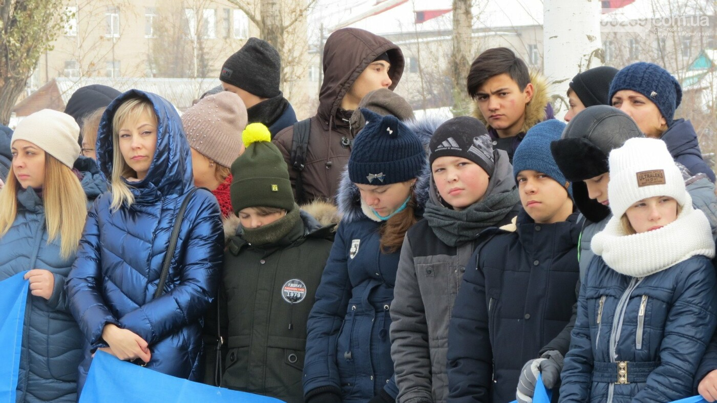 День достоинства и свободы: в Покровске почтили память событий на Майдане, фото-21