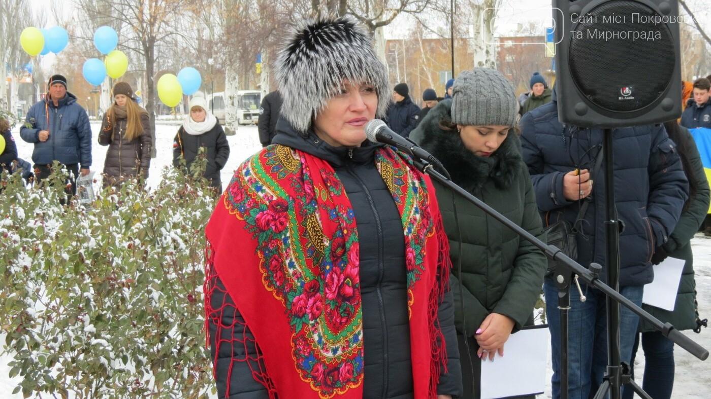 День достоинства и свободы: в Покровске почтили память событий на Майдане, фото-18