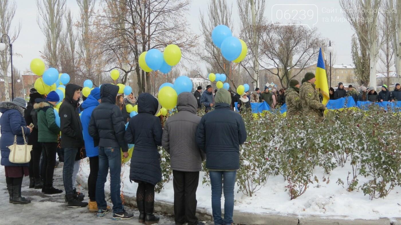 День достоинства и свободы: в Покровске почтили память событий на Майдане, фото-38