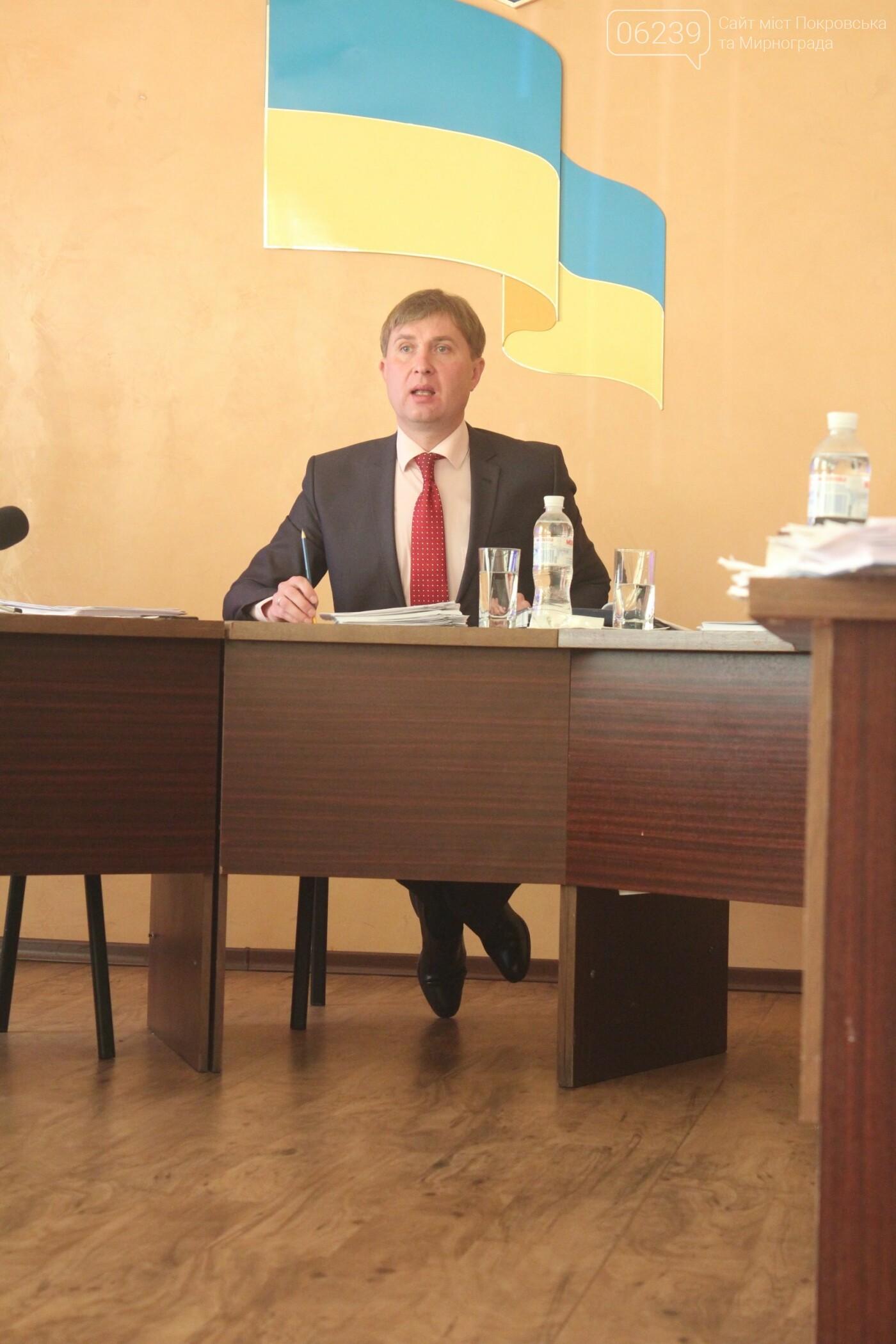 Завтра мэр Мирнограда Александр Брыкалов отчитается перед территориальной громадой, фото-1