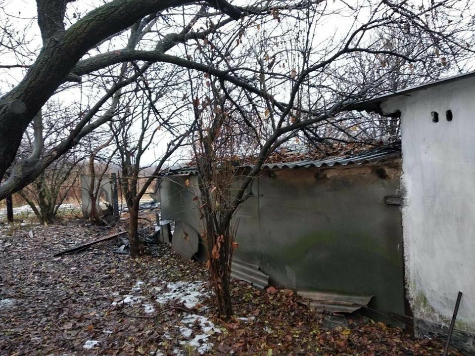 Спасатели Мирнограда дважды выезжали на пожар по одному и тому же адресу , фото-1