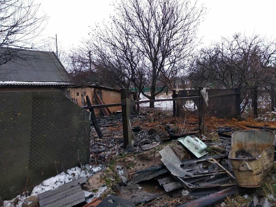 Спасатели Мирнограда дважды выезжали на пожар по одному и тому же адресу , фото-3