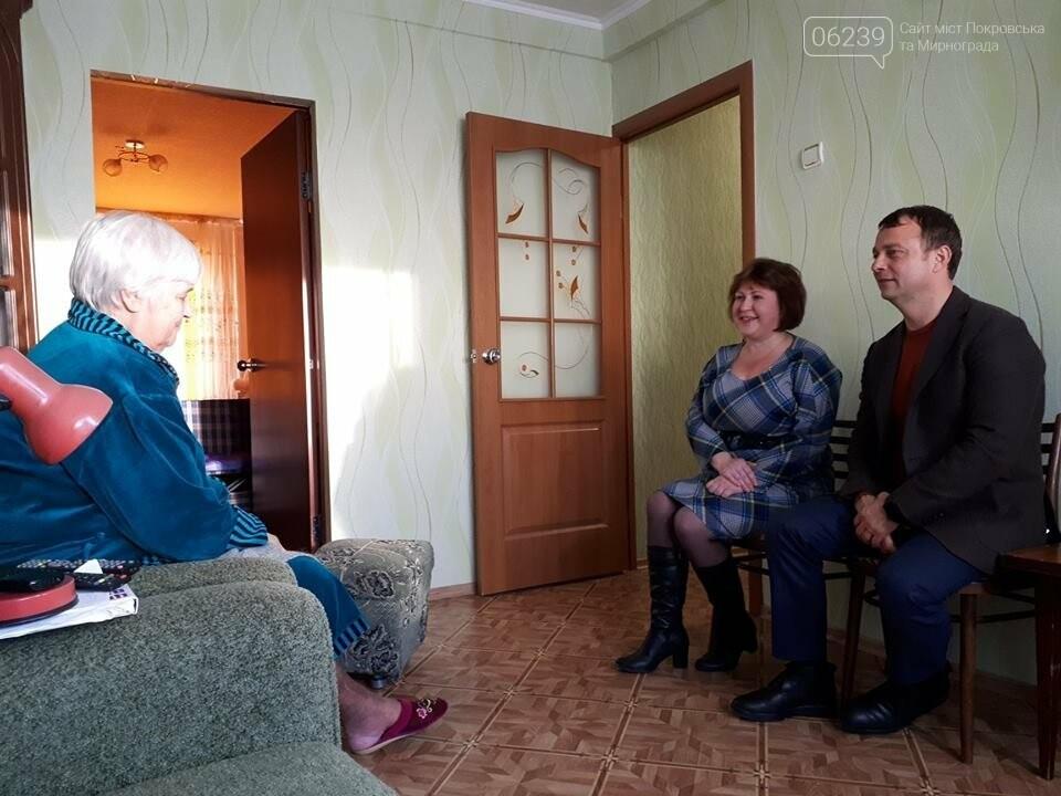 Мер Покровська відвідав інвалідів міста, фото-2