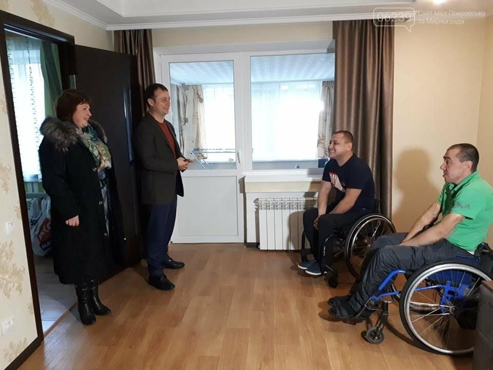 Мер Покровська відвідав інвалідів міста, фото-3