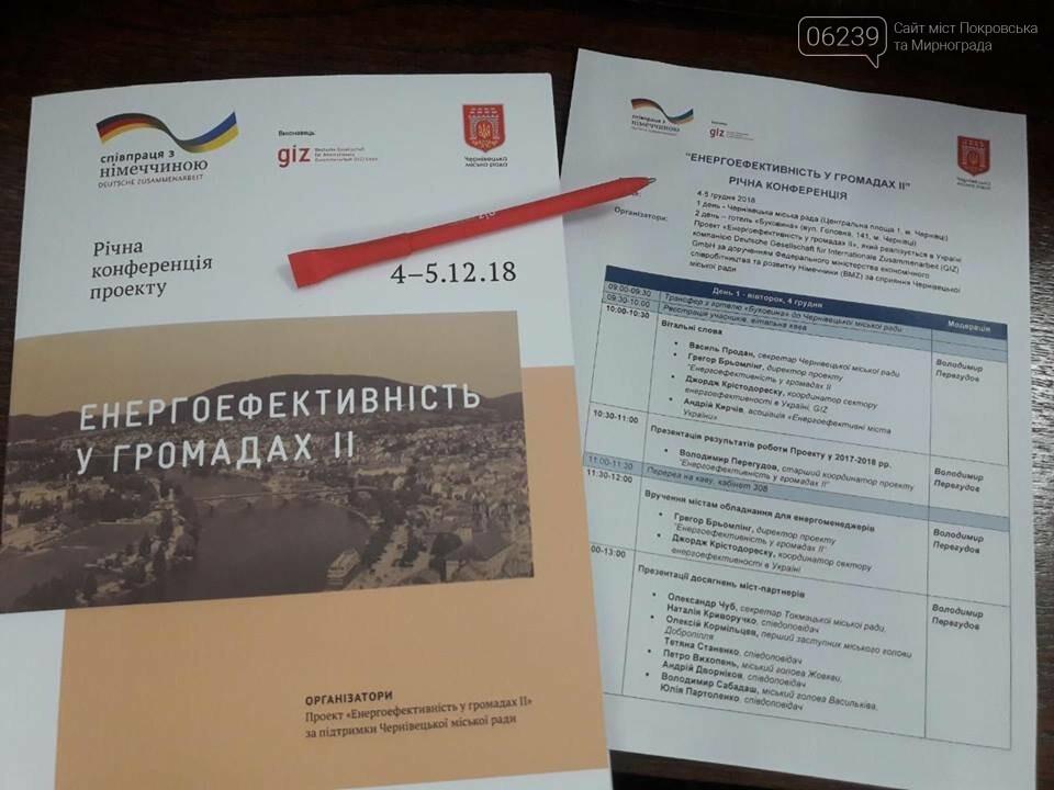 Мер Мирнограда поїхав до Чернівців на важливу конференцію, фото-3