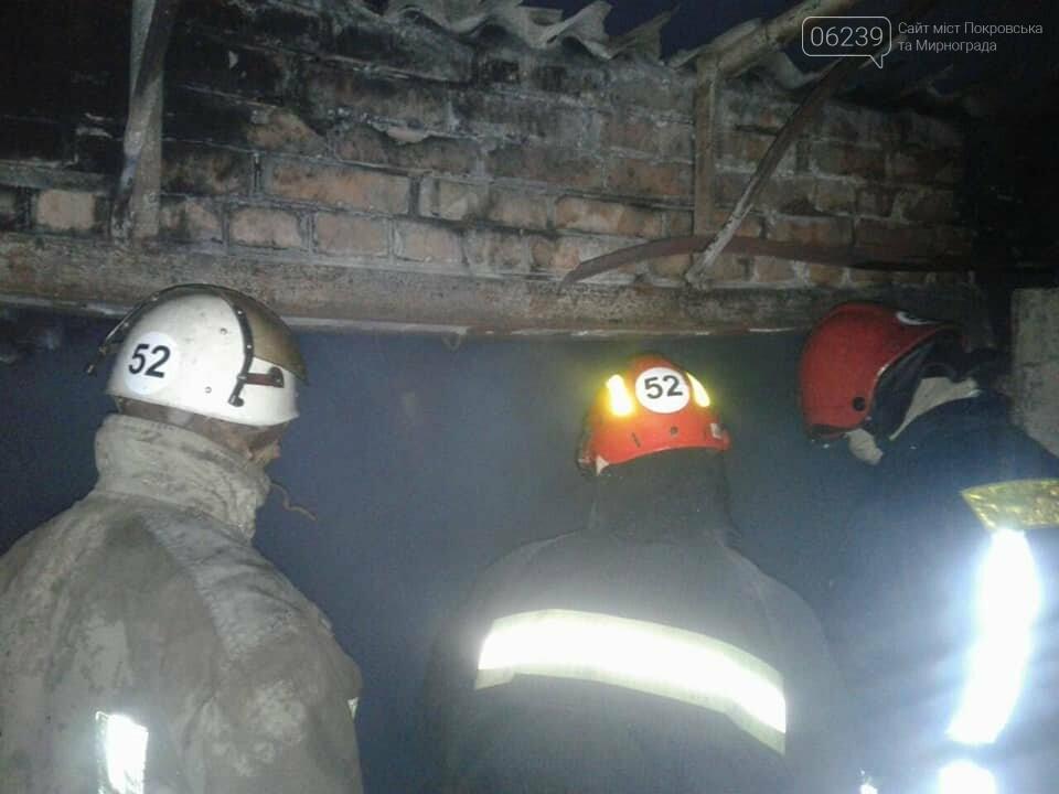 Решили не вызывать спасателей: в результате пожара в Покровском районе сгорел гараж, фото-1