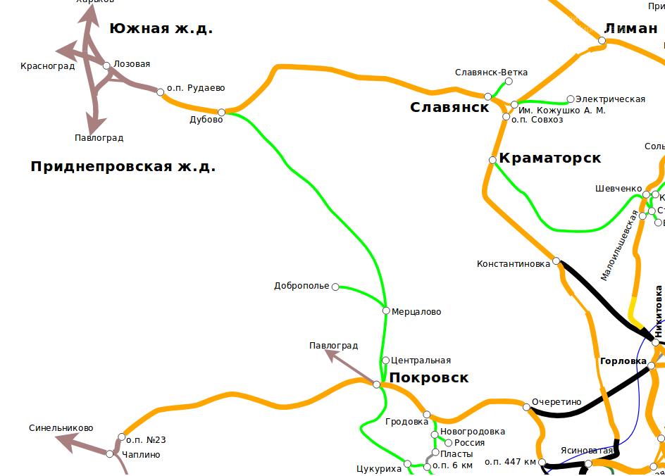 На сайте горсовета зарегистрирована петиция о развитии ж/д сообщения Покровска с другими городами, фото-1