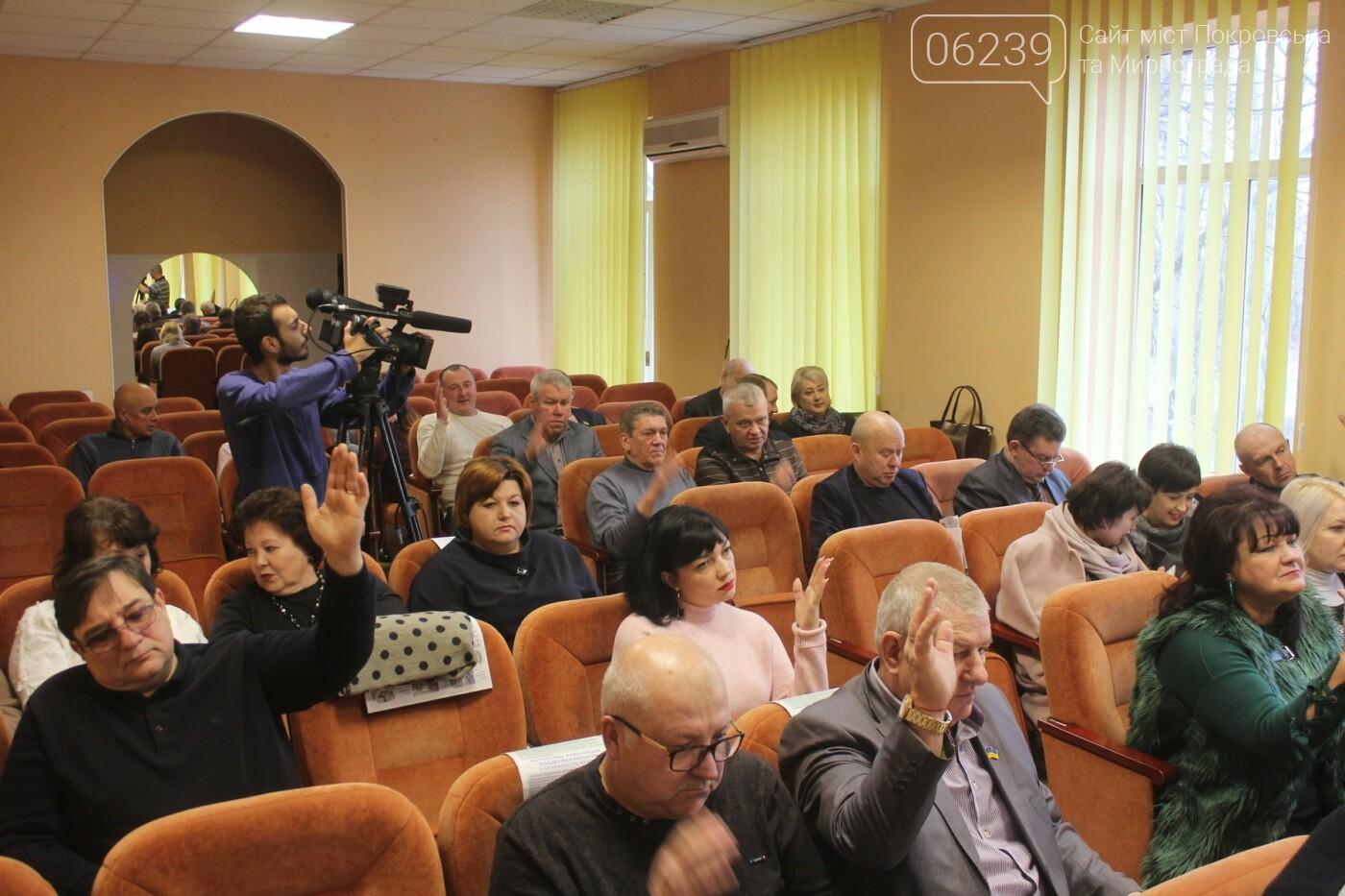 Бюджет на 2019-й год и реконструкция парка: в Мирнограде состоялась 54-я сессия городского совета, фото-8
