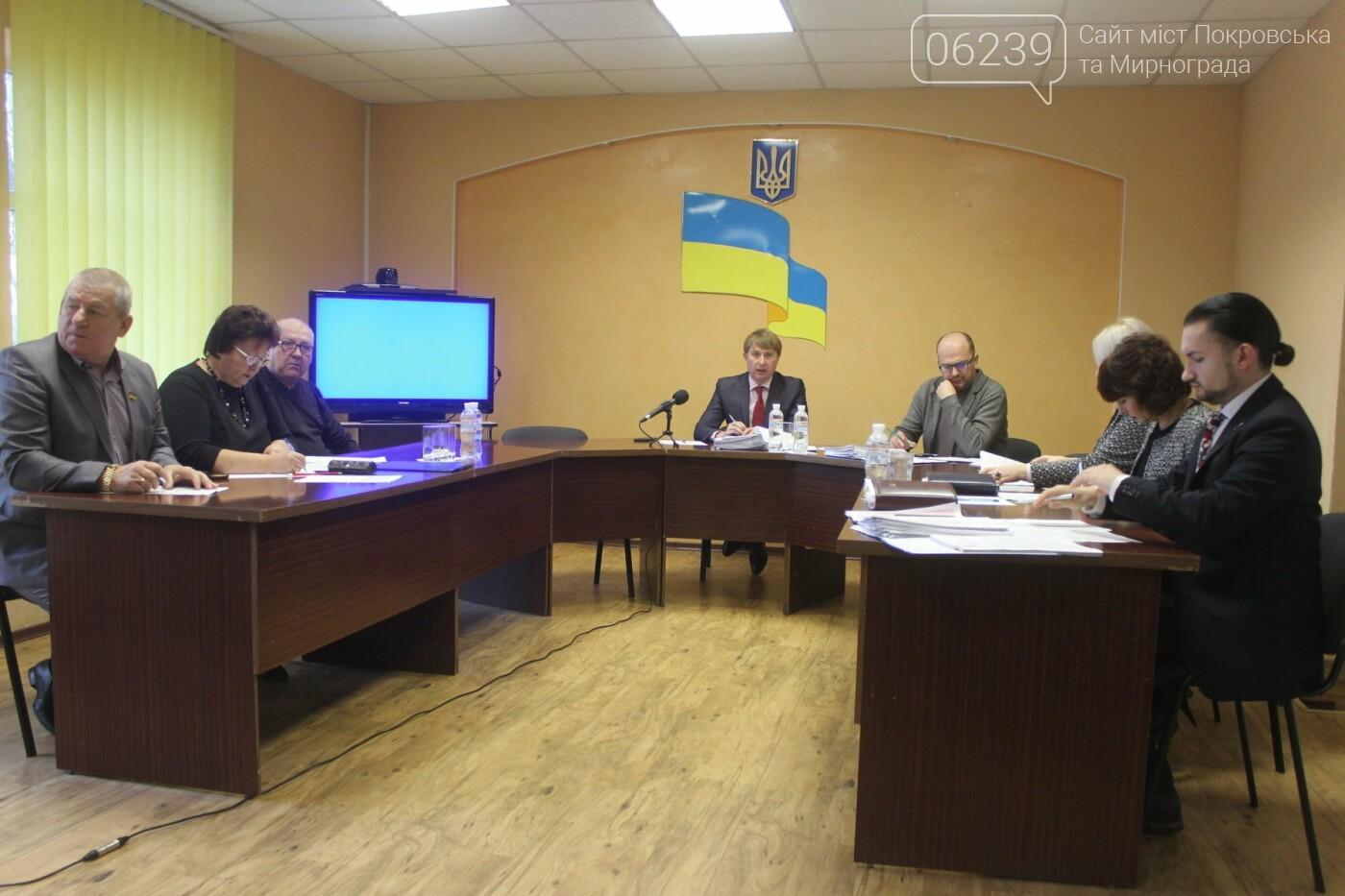 Бюджет на 2019-й год и реконструкция парка: в Мирнограде состоялась 54-я сессия городского совета, фото-6