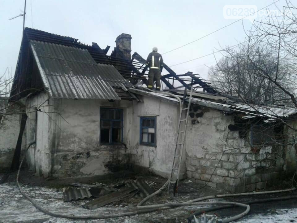 Пожар с трагическим исходом сегодня произошел в Мирнограде, фото-1