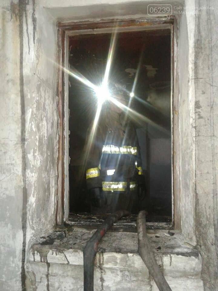 Пожар с трагическим исходом сегодня произошел в Мирнограде, фото-4