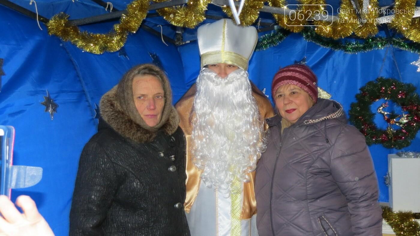 В Покровске зажгли главную новогоднюю елку, фото-4