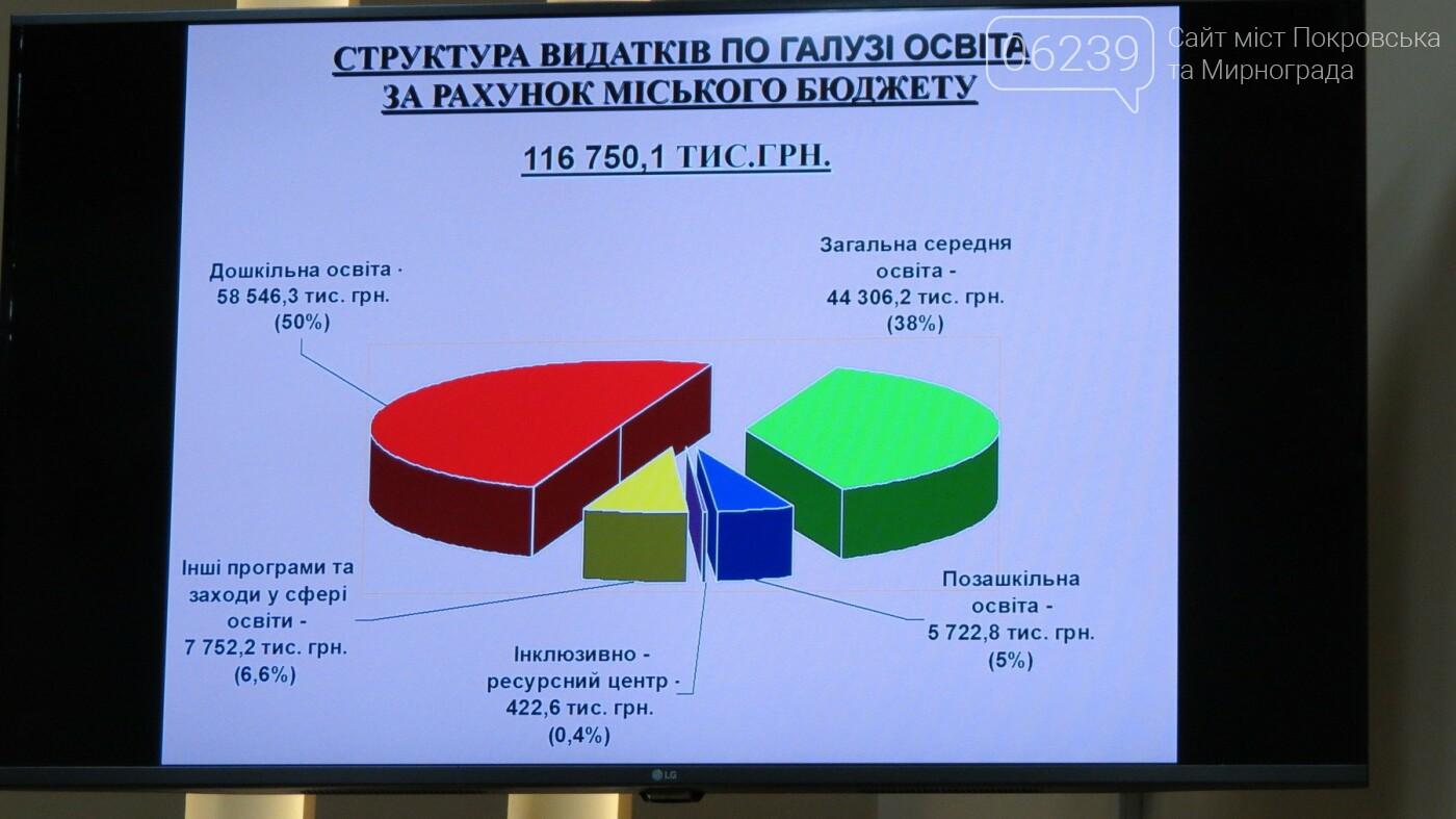 Бюджет-2019: сколько в Покровске выделят на образование, фото-2
