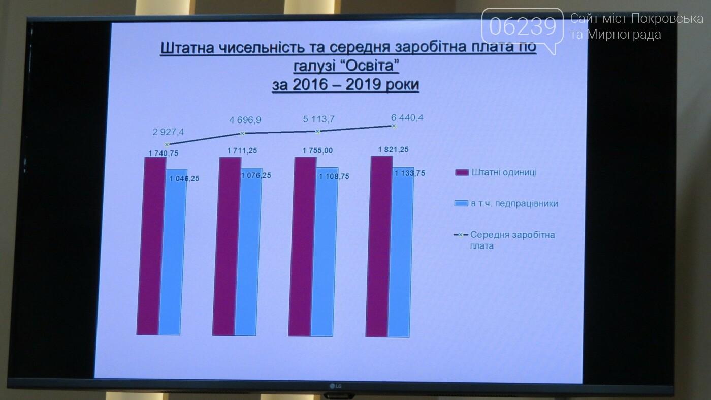 Бюджет-2019: сколько в Покровске выделят на образование, фото-3
