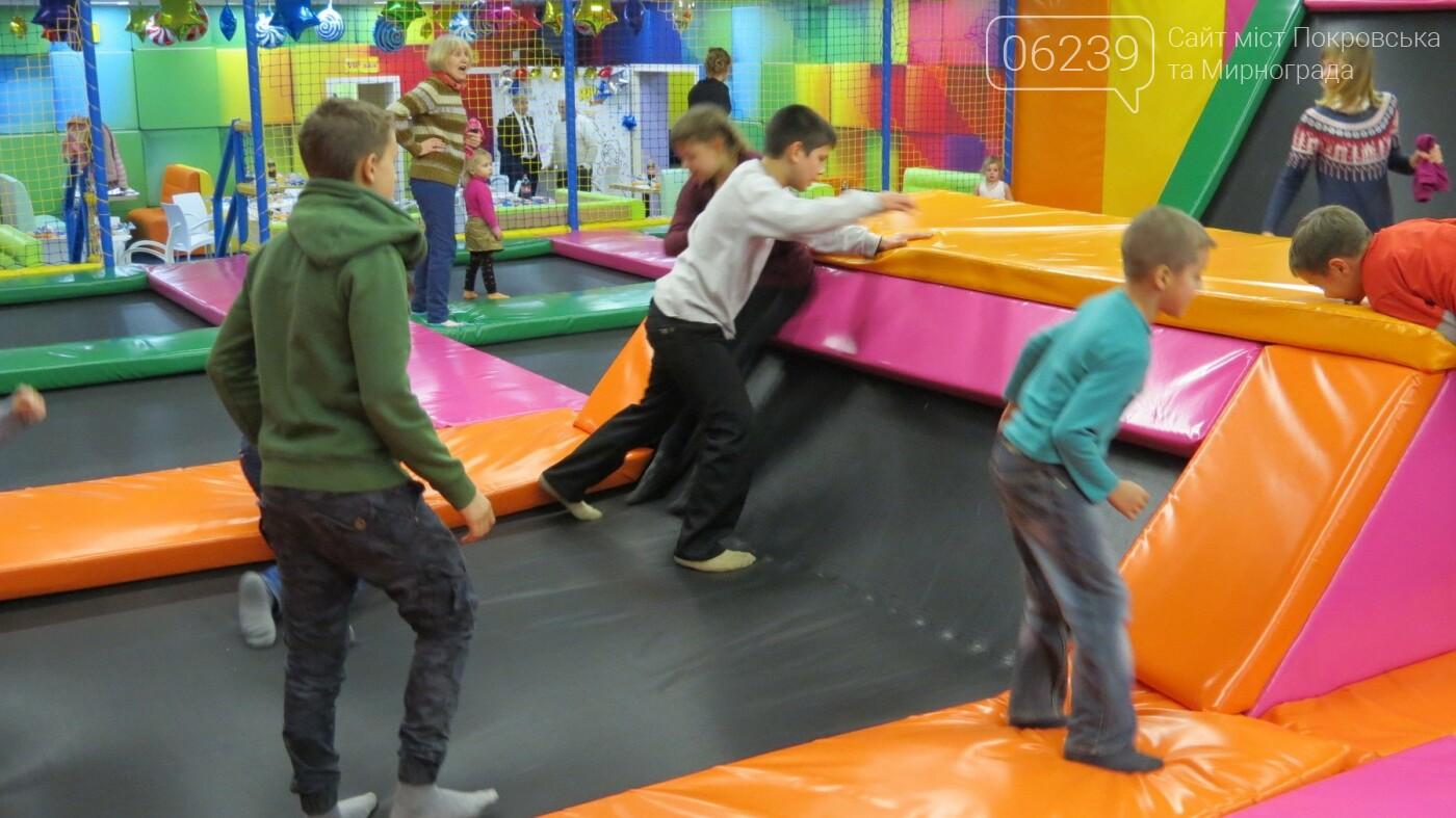 Активные предприниматели Покровска организовали праздник для детей из приютов, фото-25
