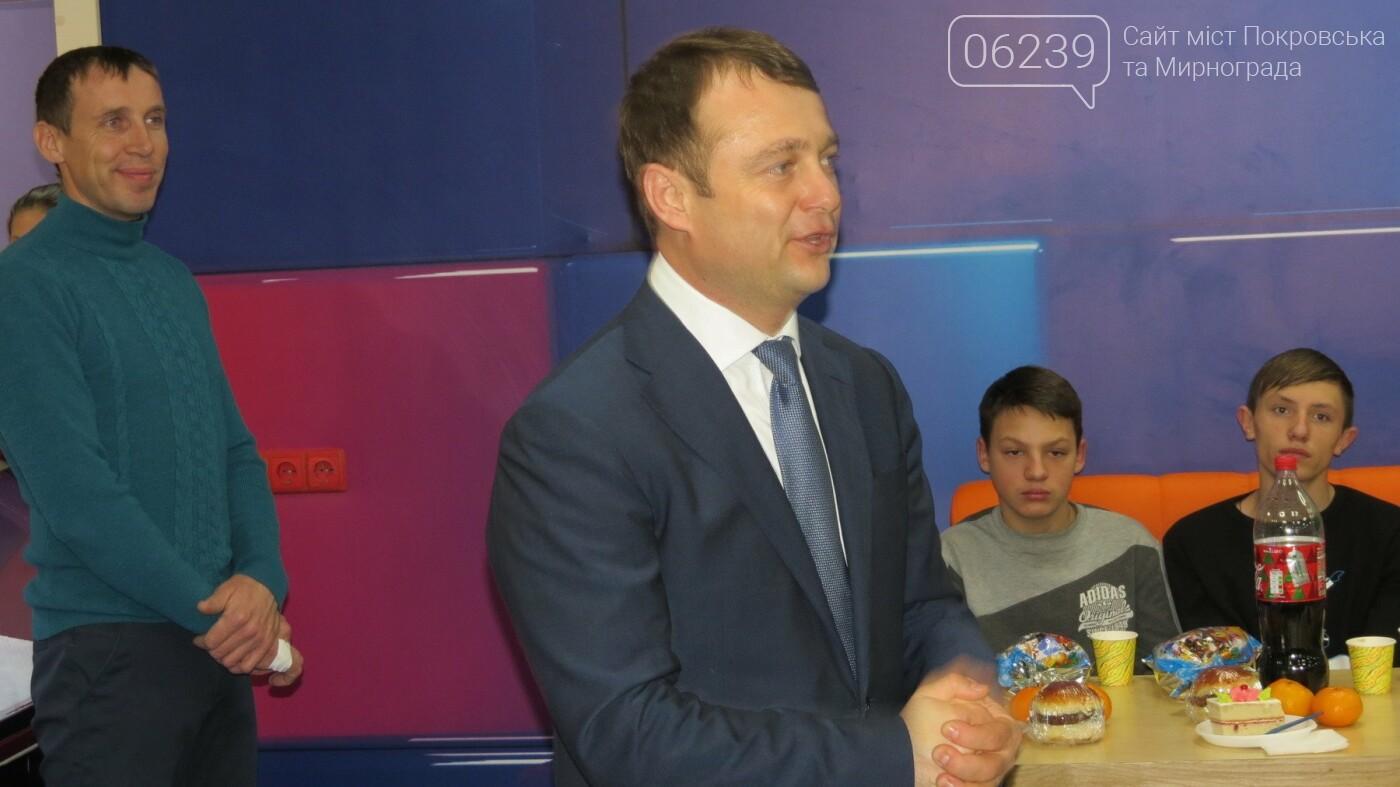 Активные предприниматели Покровска организовали праздник для детей из приютов, фото-8