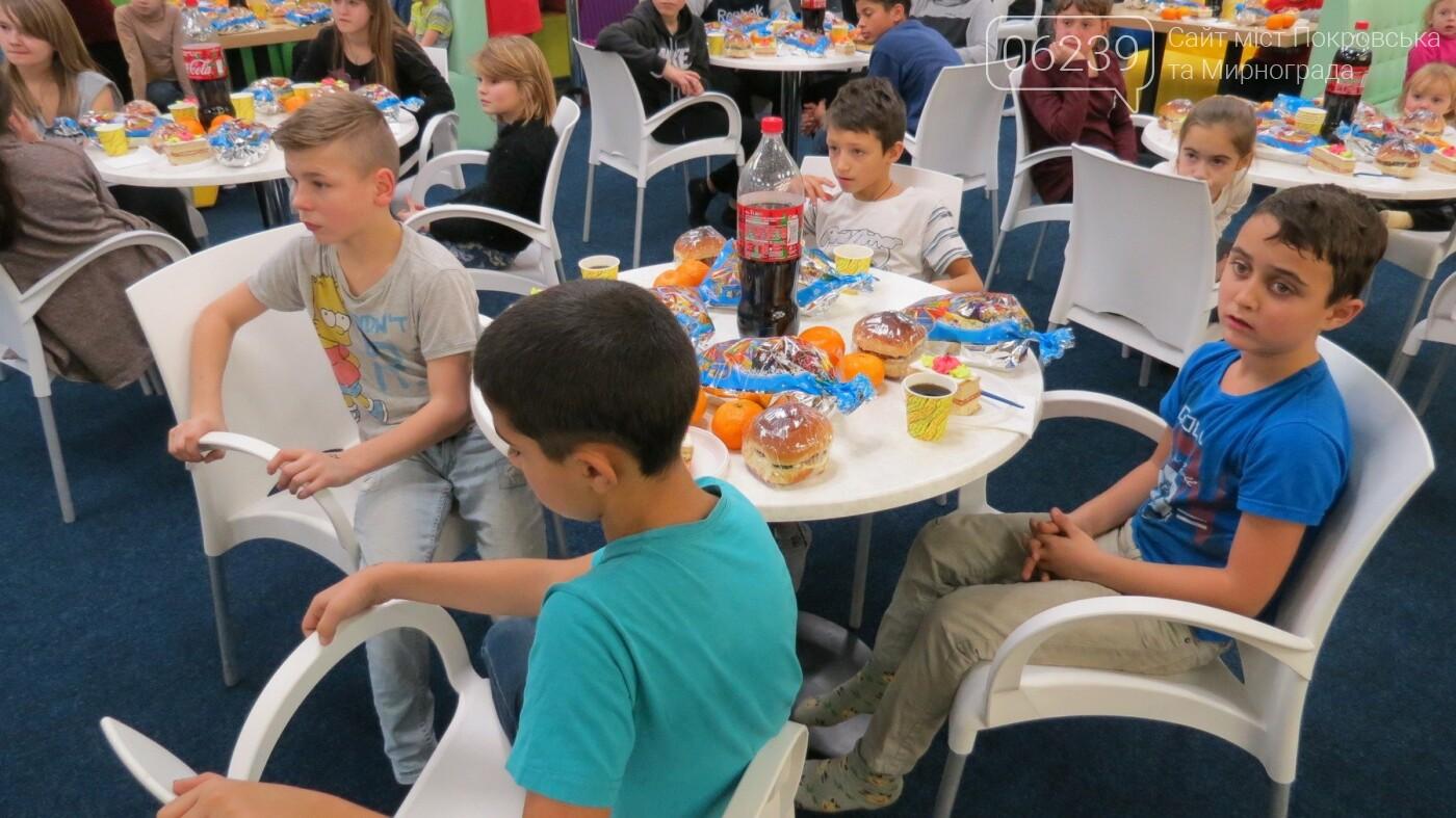 Активные предприниматели Покровска организовали праздник для детей из приютов, фото-4