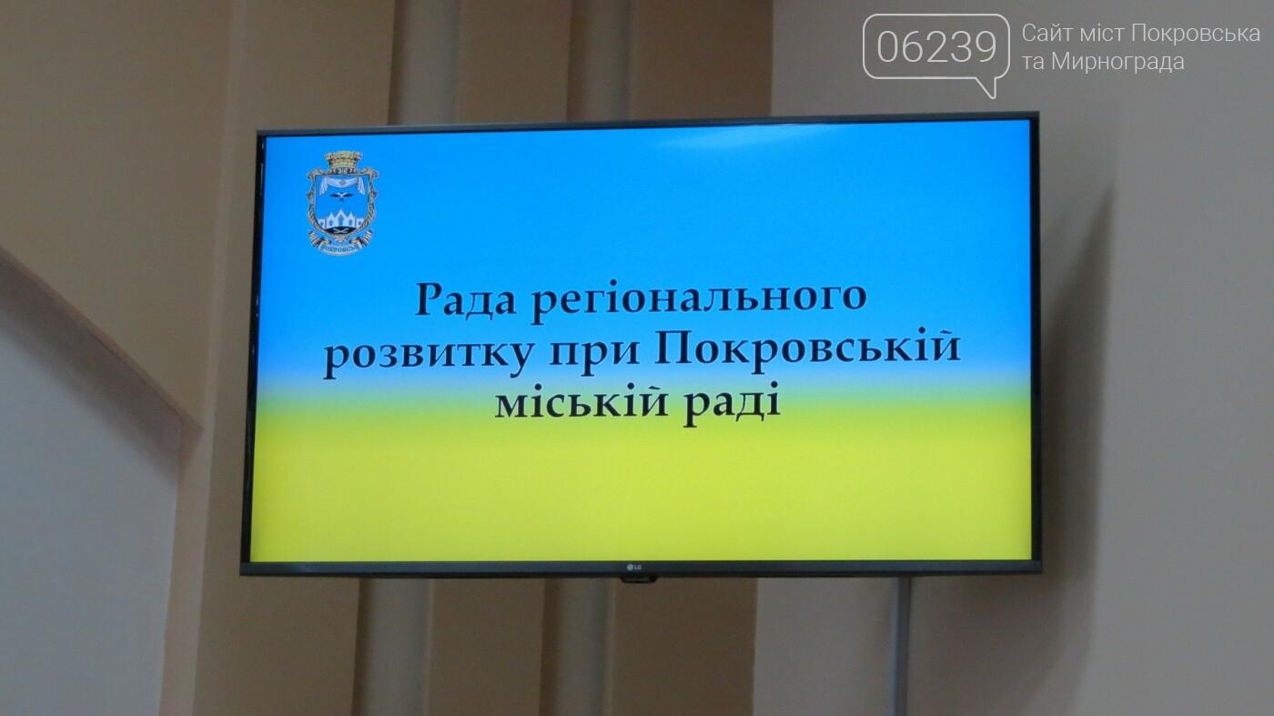 Вчора у Покровську відбулось перше засідання Ради регіонального розвитку при Покровській міській раді, фото-2