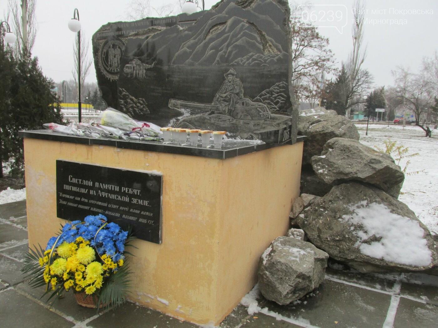 В Покровске почтили память погибших воинов-афганцев, фото-6