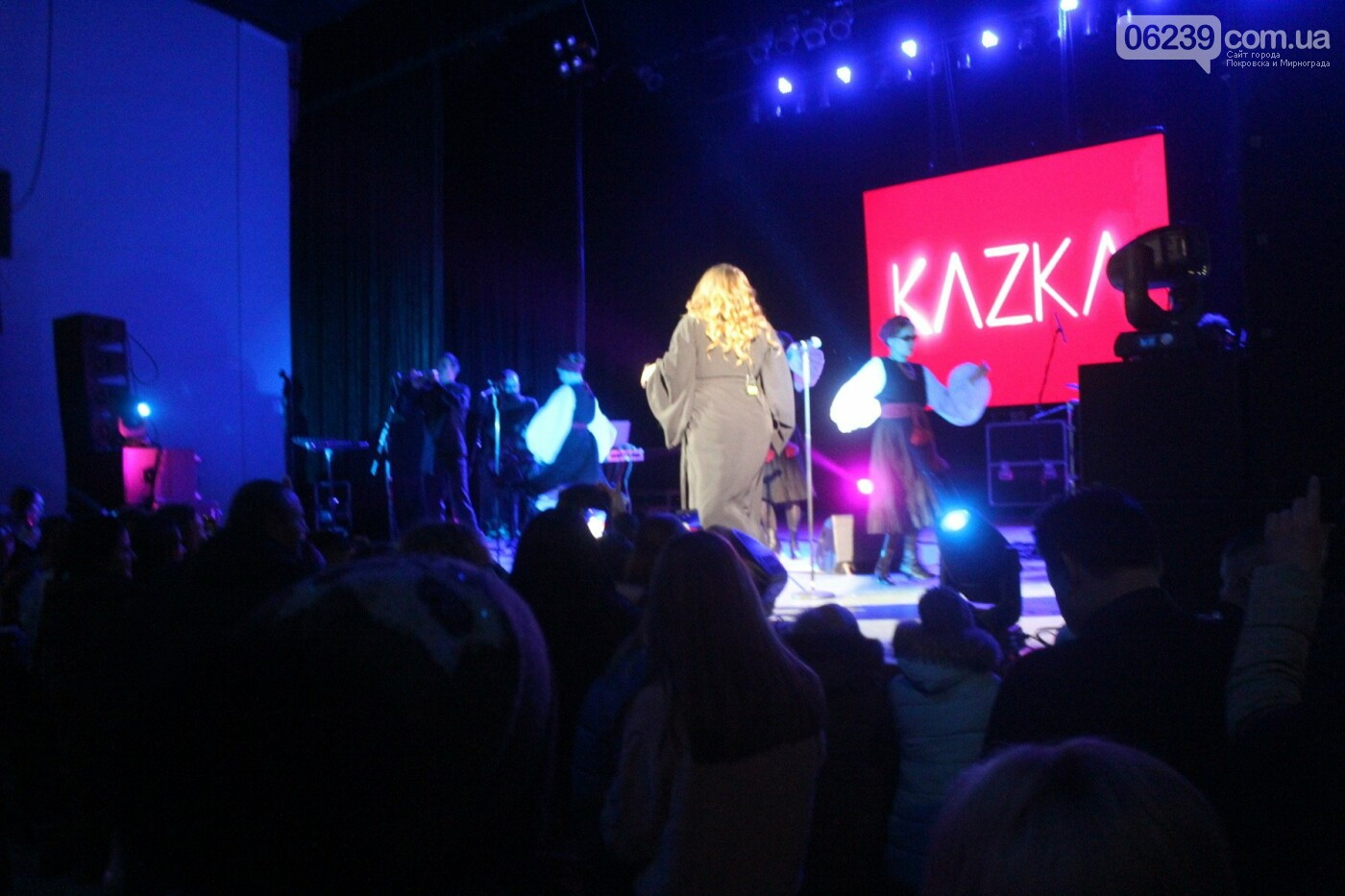 В Покровске выступила популярная украинская группа KAZKA, фото-11