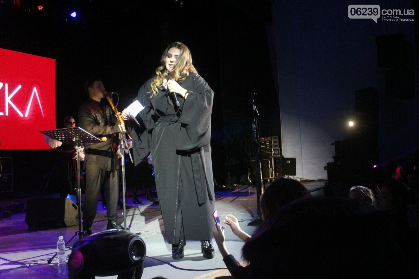 В Покровске выступила популярная украинская группа KAZKA, фото-14