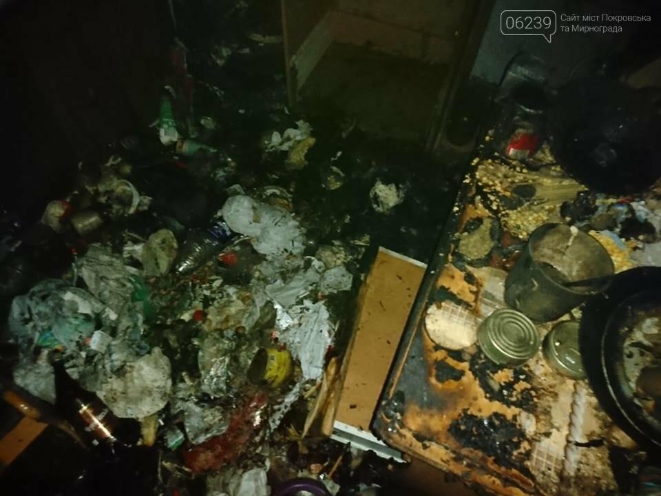Сутки для спасателей ГПСО-9: пожар в Мирнограде с пострадавшей и обнаруженный труп в Родинском, фото-3