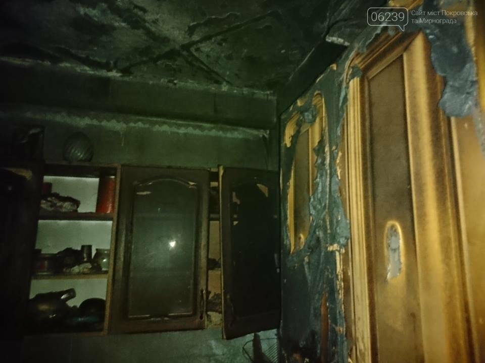 Сутки для спасателей ГПСО-9: пожар в Мирнограде с пострадавшей и обнаруженный труп в Родинском, фото-2