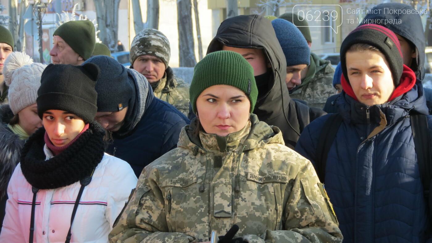 Покровчане отмечают День Соборности Украины, фото-2