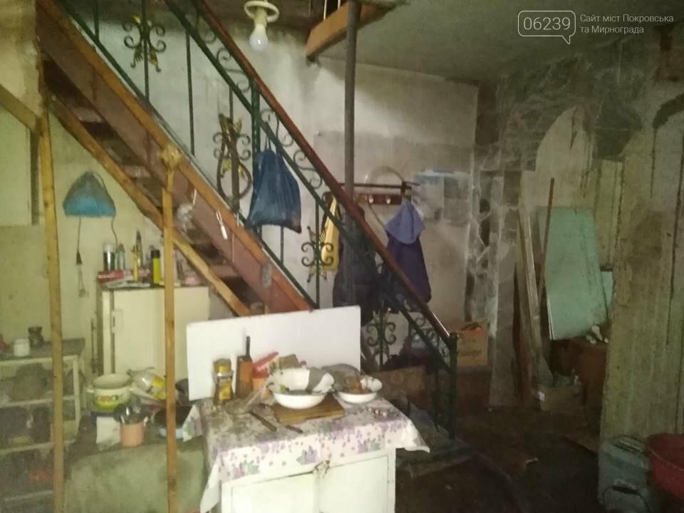 На выходных в Покровске и Мирнограде горели жилые дома, фото-1