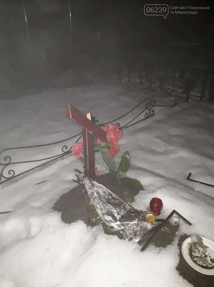 В Родинском вандалы сломали крест на могиле воина АТО, фото-4