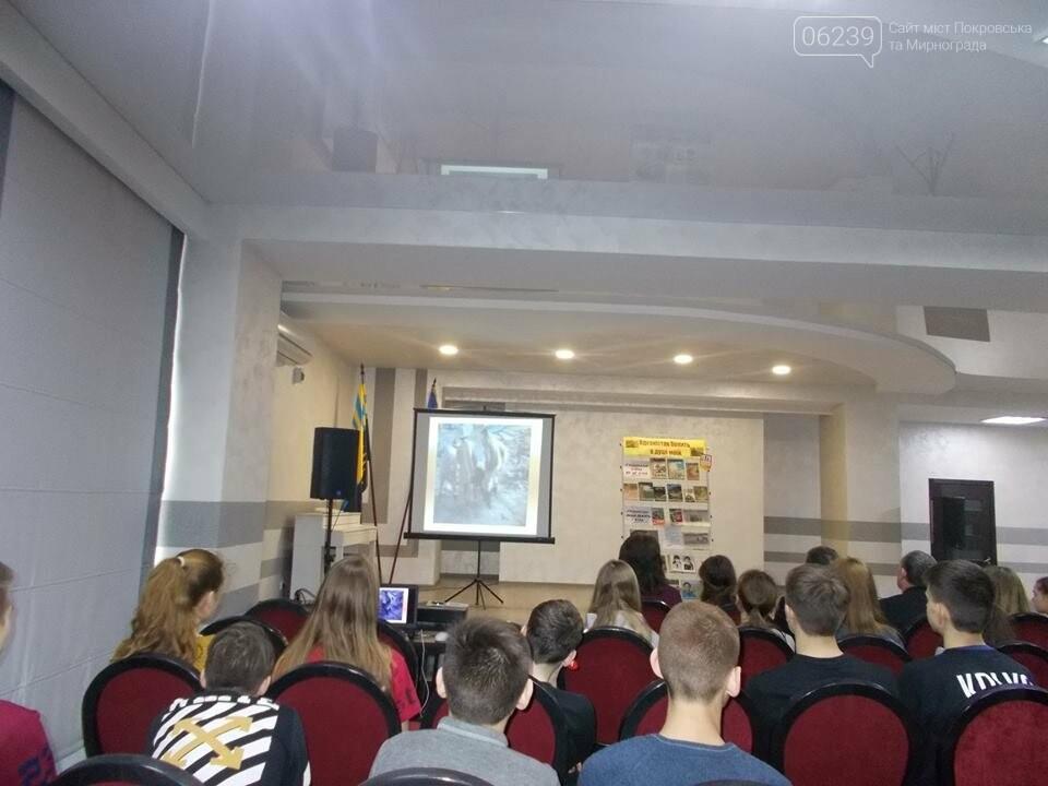 У Покровську для учнів ЗОШ №12 пройшла зустріч з ветеранами-афганцями, фото-2