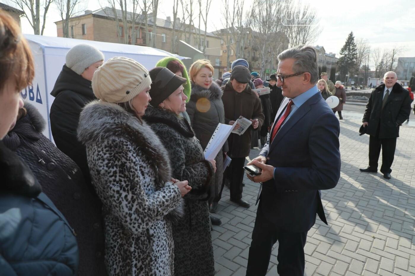 Кандидат на пост Президента Украины Сергей Тарута посетил Покровск, фото-3