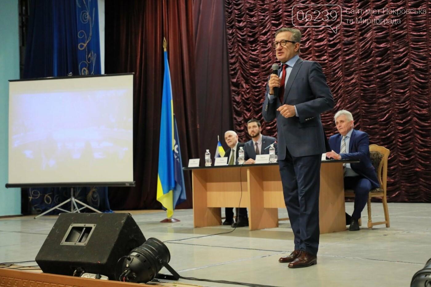 Кандидат на пост Президента Украины Сергей Тарута посетил Покровск, фото-5