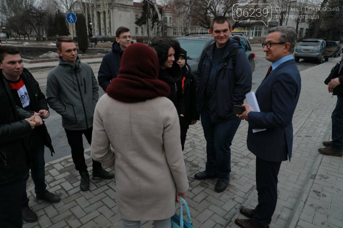 Кандидат на пост Президента Украины Сергей Тарута посетил Покровск, фото-23