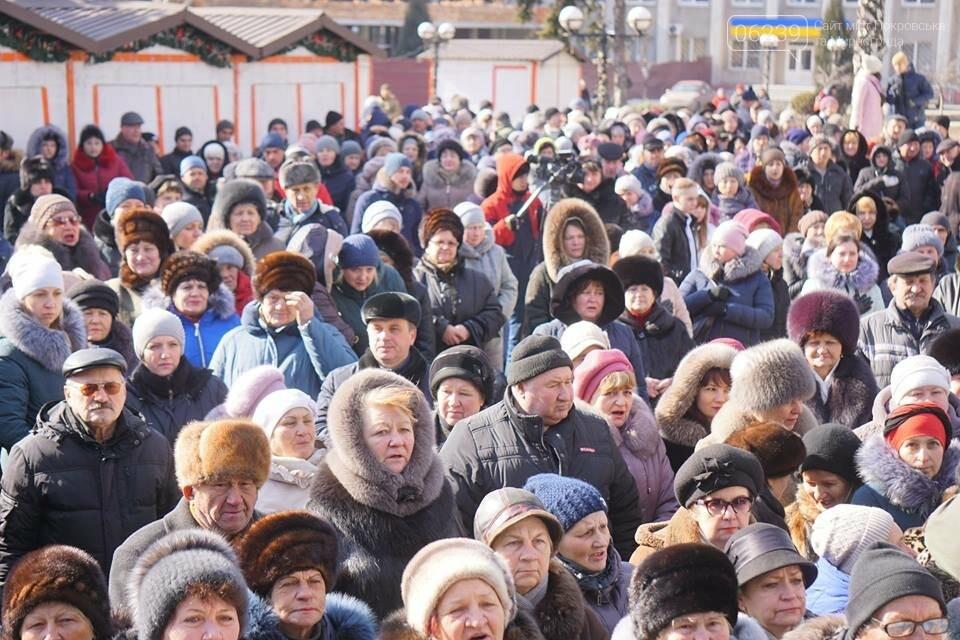 Сегодня в Покровске провели акцию против бандитизма, фото-11